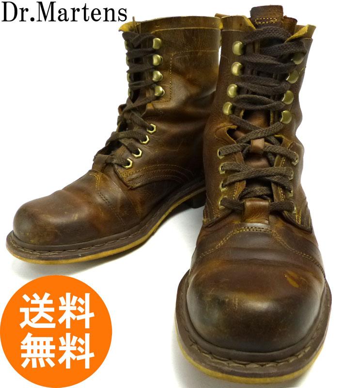 ドクターマーチン Dr.Martens レザーワークブーツ UK9(27.5cm相当)(メンズ) 【中古】