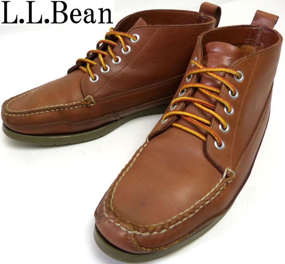 エルエルビーン L.L.Bean モカシン ショートブーツ/デッキシューズ 9D(27cm相当)(メンズ)【中古】