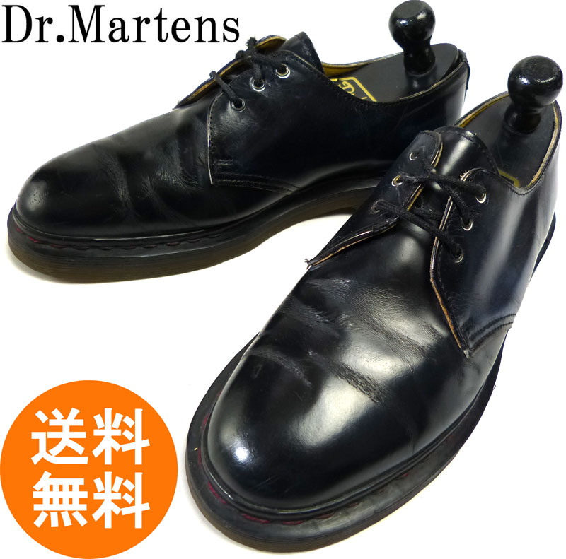 ドクターマーチン Dr.Martens イングランド(英国)製 3ホール ポストマンシューズ UK8(26.5cm相当) 【中古】
