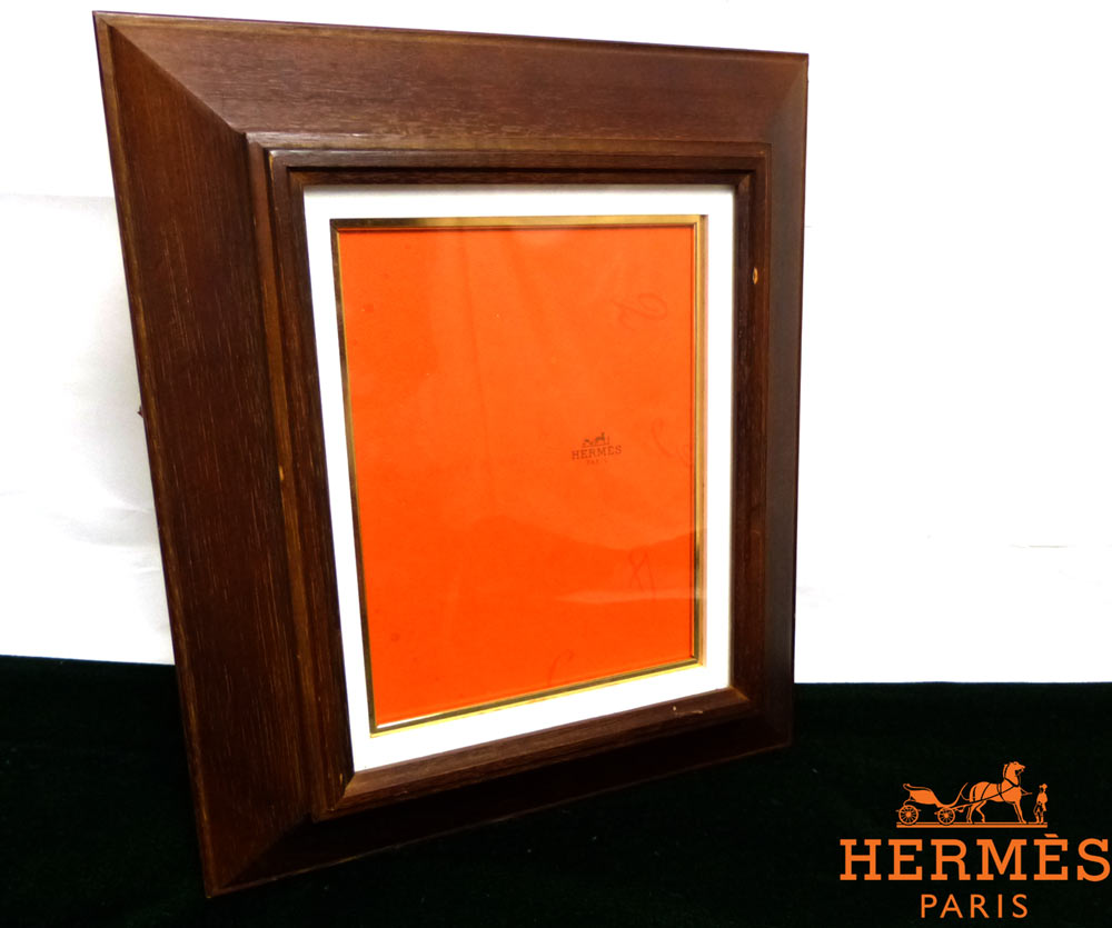 オールド木製 額縁フレーム エルメス(HERMES ) のカタログの切り抜き/ポスター【中古】
