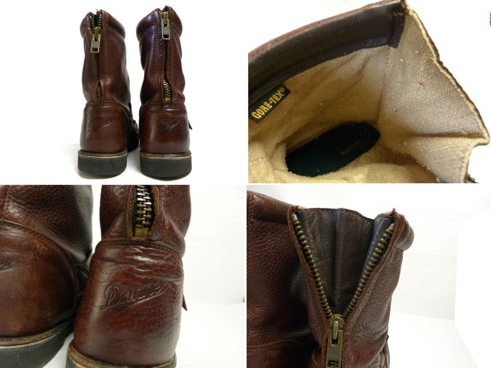 Danner ダナー 44500 バックジップ ブーツ US9(27cm相当)(メンズ)【中古】【送料無料】