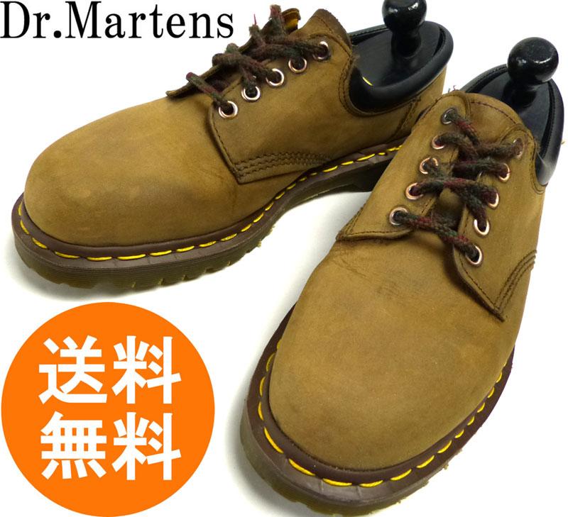 ドクターマーチン Dr.Martens イングランド(英国)製 5ホール スエードシューズ UK9(27.5cm相当) 【中古】【送料無料】