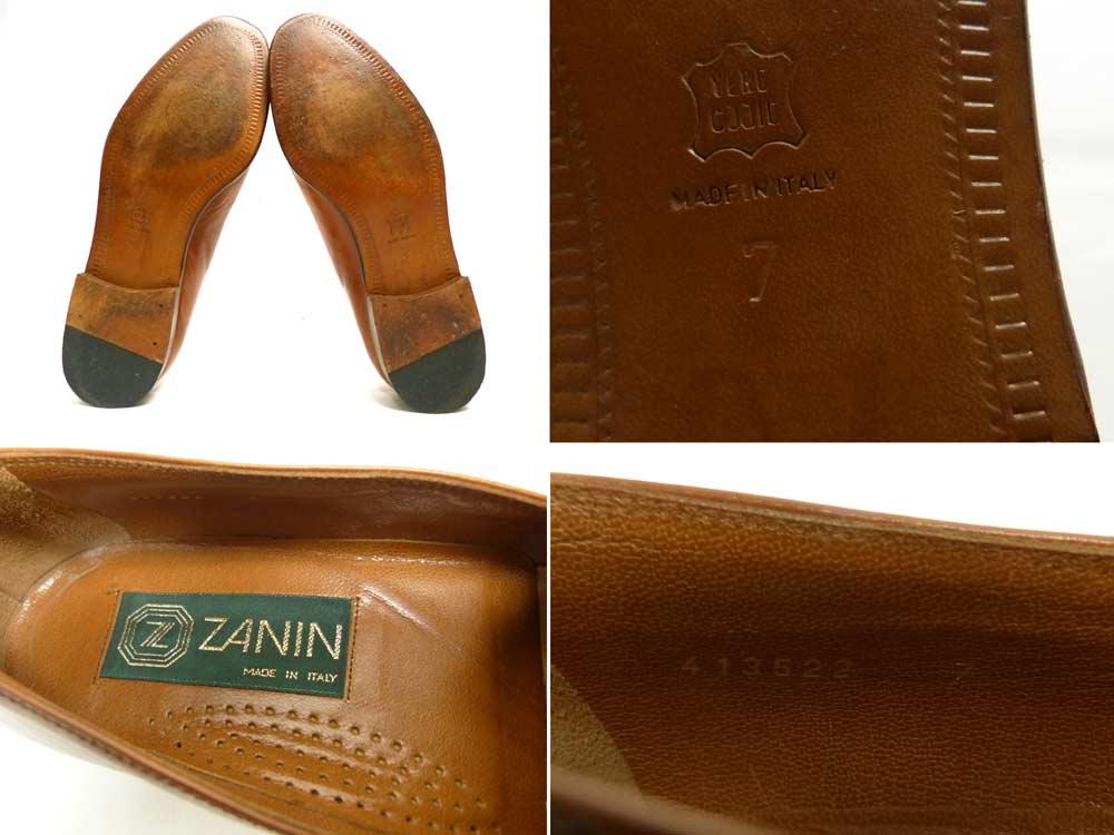 イタリア製 ZANIN タッセルローファー 7(26cm相当)(メンズ)【中古】