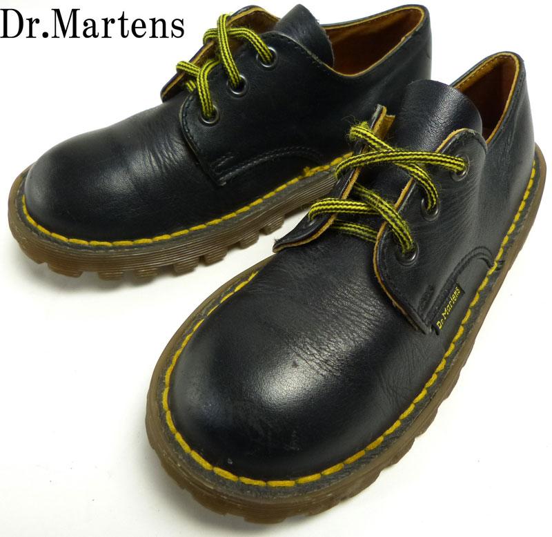 キッズ用ドクターマーチン Dr.Martens イングランド(英国)製 3ホール スエードシューズ UK11(18.5cm相当) 【中古】