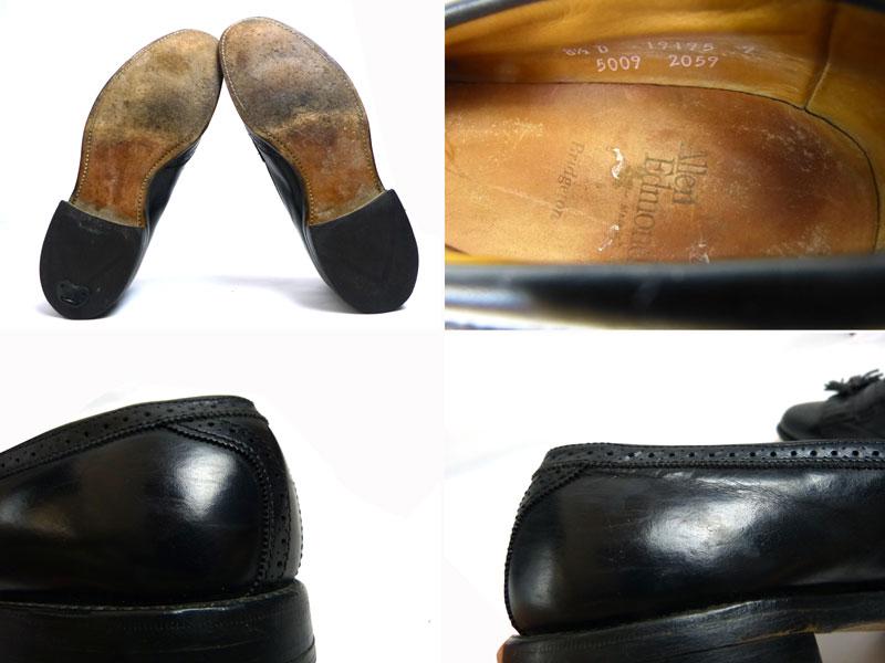 アレンエドモンズ Allen Edmonds Bridgeton USA製 キルトタッセルローファー US8 1/2D(26.5cm相当)(メンズ)(紳士靴)【中古】