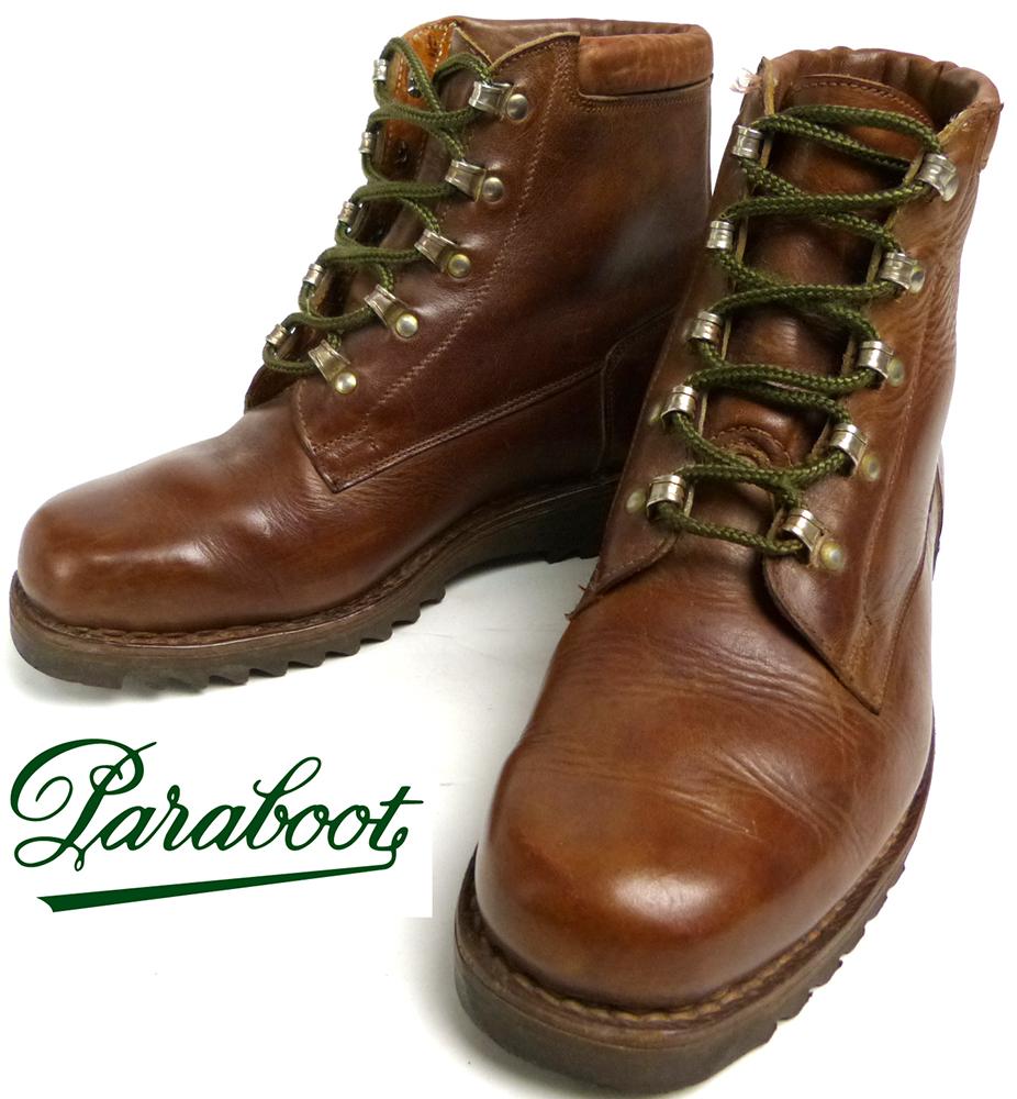 パラブーツ Paraboot トレッキングブーツ /マウンテンブーツ 6A(24-24.5cm相当)(レディース)(ヴィンテージ)【中古】【送料無料】