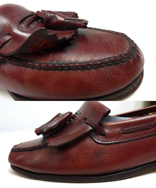 USA製ジョンストン&マーフィー JOHNSTON & MURPHY ARISTOCRAFT アリストクラフト キルトタッセルローファー  表記なし(27.5cm相当)(メンズ)(紳士靴)【中古】