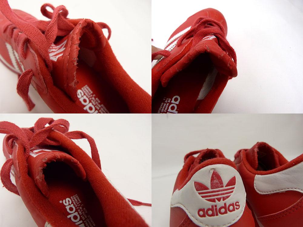 【訳あり】アディダス adidas ナイロンスニーカー US5(23.5cm相当)(レディース)【中古】