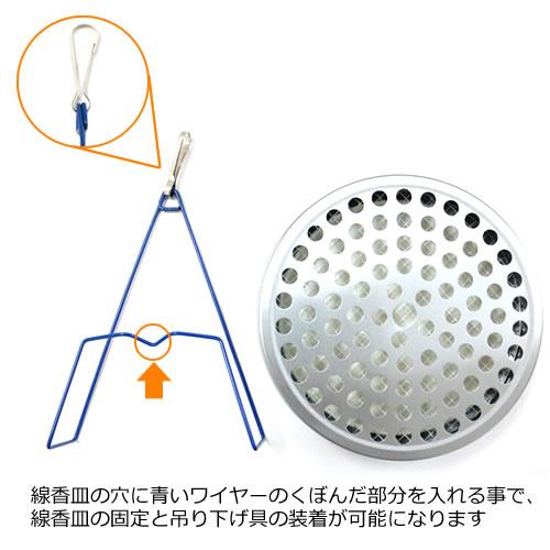 かえる印のフッ素加工せんこう皿