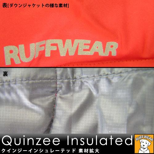 ラフウェア クインジー インシュレーテッド JKT [レッド/XL]※旧モデル