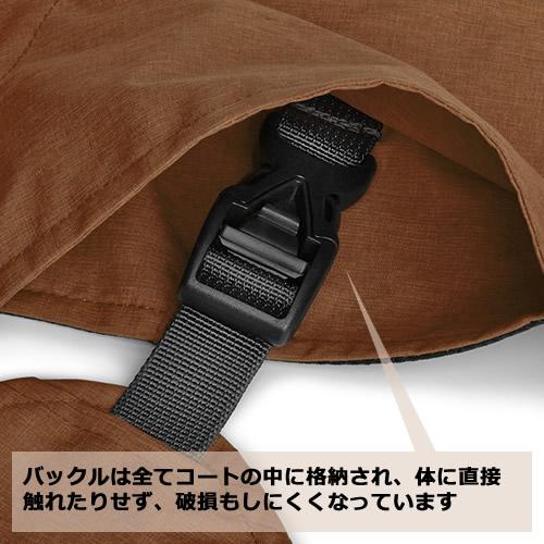 ラフウェア K-9オーバーコート JKT [パープル/XL]※旧モデル