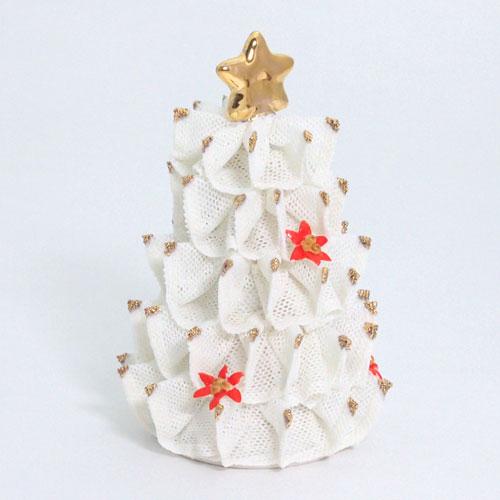 【限定1個】 アイリッシュドレスデン クリスマス ツリー ポインセチア