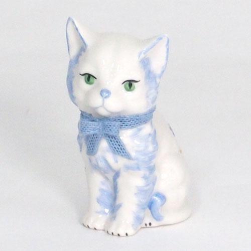 【限定1個】 アイリッシュドレスデン マミー キャット ブルー