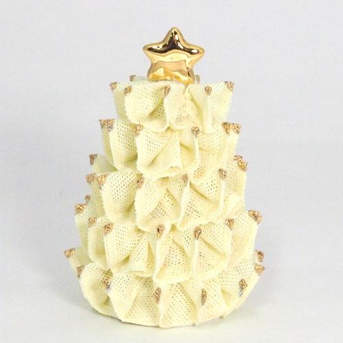 【限定1個】 アイリッシュドレスデン クリスマス ツリー イエロー