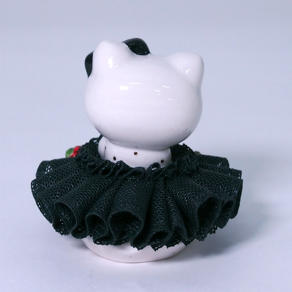 【限定1個】 アイリッシュドレスデン HALLOWEEN KITTY