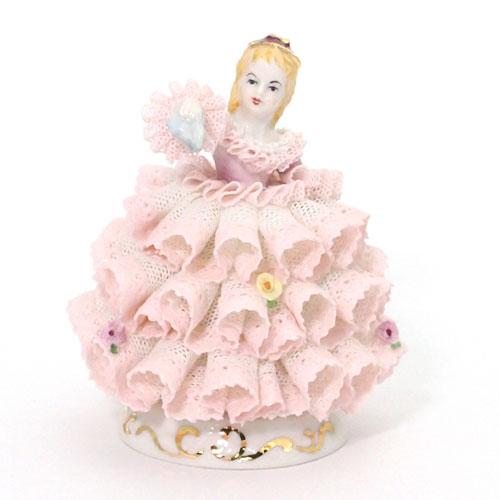 【限定1個】 アイリッシュドレスデン バベット ピンク