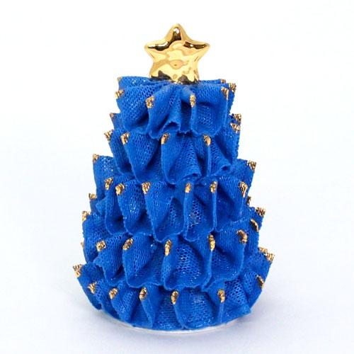 【限定1個】 アイリッシュドレスデン クリスマス ツリー ロイヤルブルー