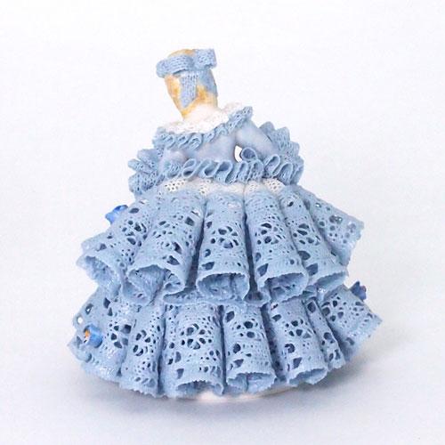 【限定1個】 アイリッシュドレスデン フォーゲットミーノット ブルー