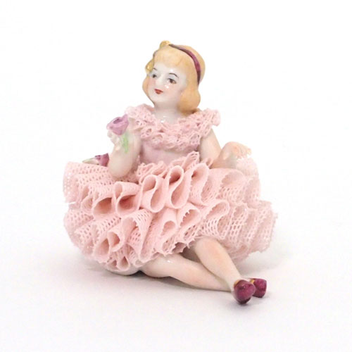【限定1個】 アイリッシュドレスデン ジュリエット ピンク