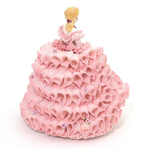 【限定1個】 アイリッシュドレスデン ルビー ピンク