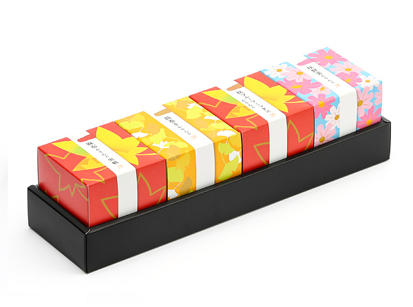 秋キューブ箱4個セット