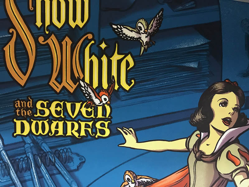 Mondo Snow White 白雪姫 Cyclops Print 限定305枚 手書きナンバリング入り(ジェームス フレームス)