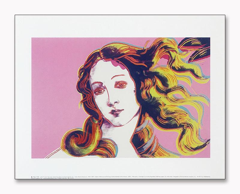 Details of Renaissance Paintings (pink)(アンディ ウォーホル)