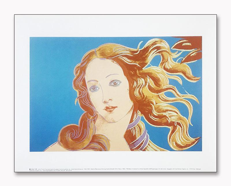 Details of Renaissance Paintings (blue)(アンディ ウォーホル)