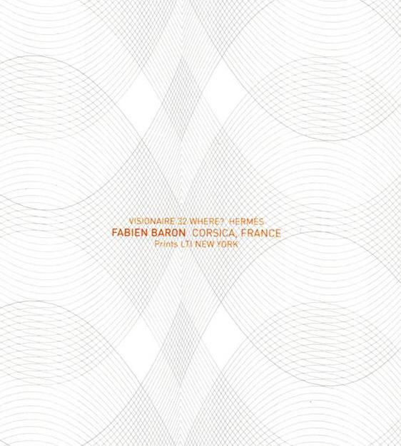 限定マット額装品/HERMES【エルメス】ファビアン・バロン/CORSICA VISIONAIRE 32
