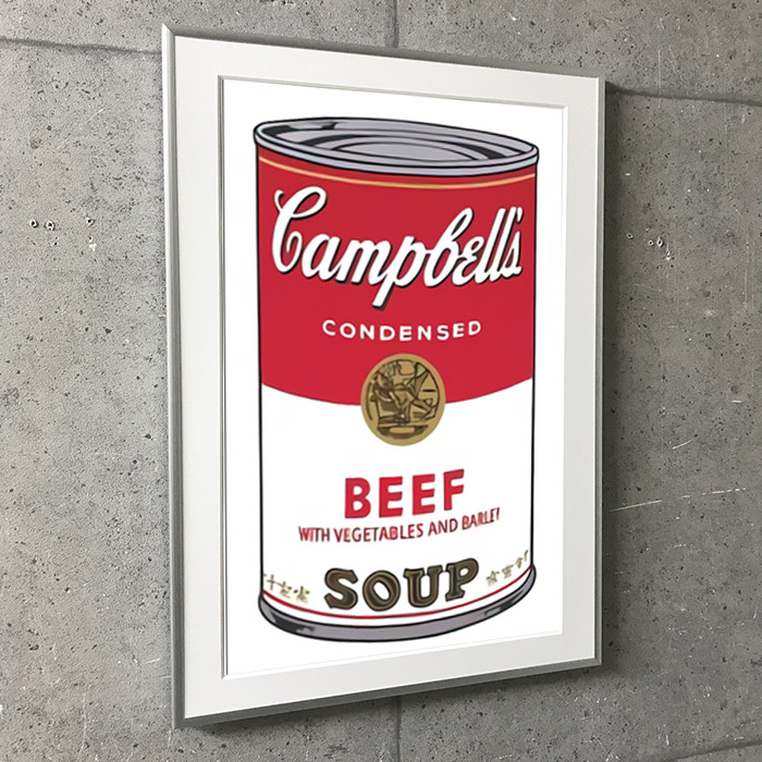 Campbell s Soup I Beef 1968(アンディ ウォーホル)