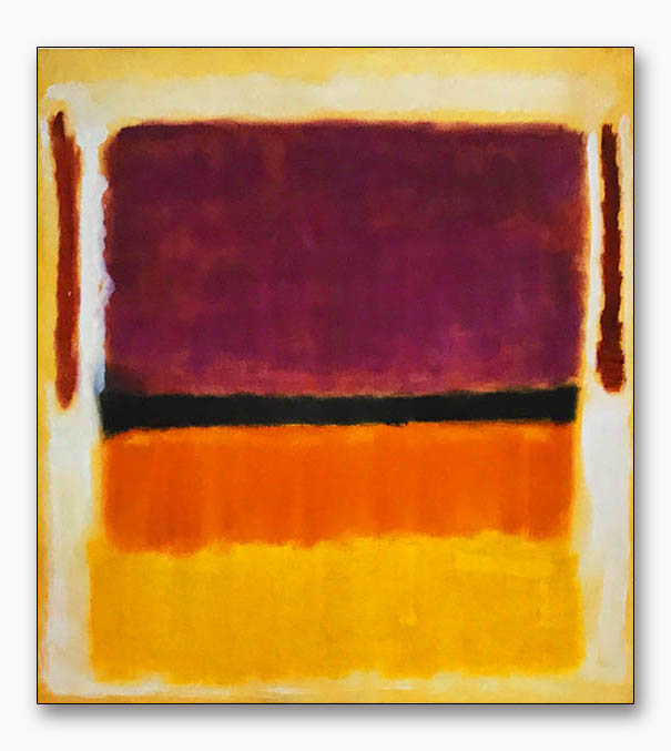 Untitled (Violet Black Orange Yellow on White and Red) 1949(マーク ロスコ)