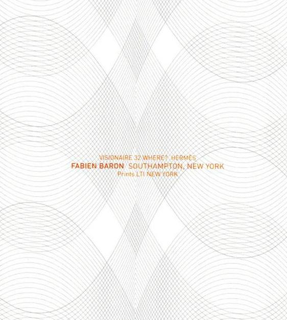 限定マット額装品/HERMES【エルメス】ファビアン・バロン/SOUTHAMPTON VISIONAIRE 32