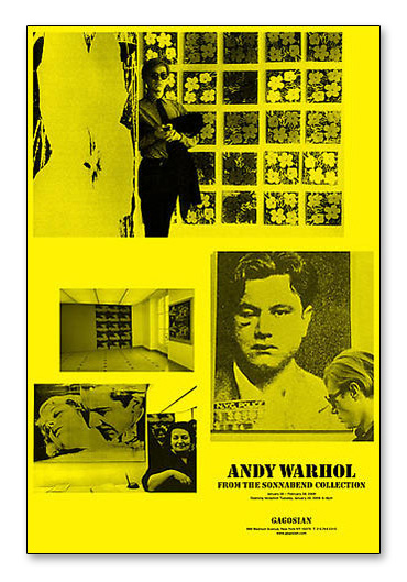Warhol from the Sonnaben(アンディ ウォーホル)