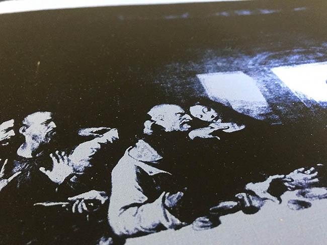 最後の晩餐 1986 (ブルー)(アンディ ウォーホル)