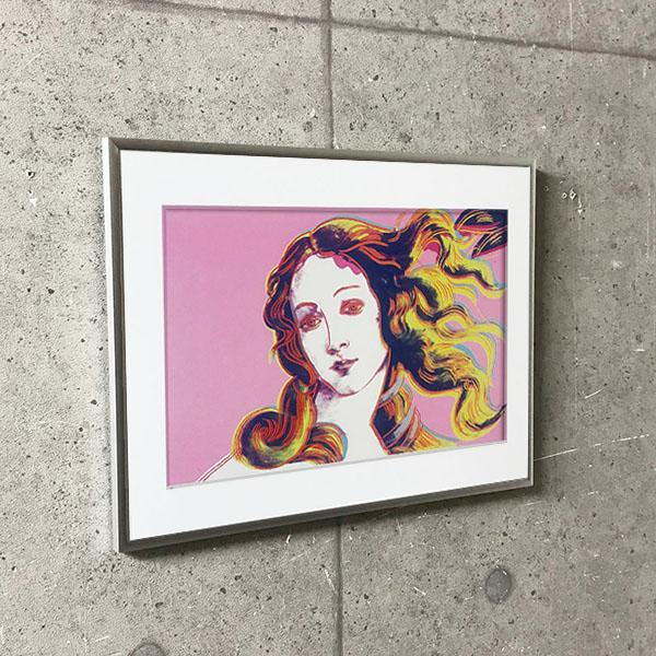 特別額装マット作品/アートポスター/Details of Renaissance Paintings (pink)(アンディ ウォーホル)