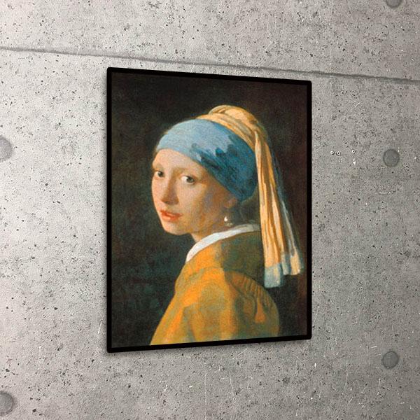 額装済30%OFF/真珠の耳飾りの少女/ヨハネス フェルメール/ポスター(ヨハネス フェルメール)