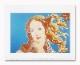 特別額装マット作品/アートポスター/Details of Renaissance Paintings (blue)(アンディ ウォーホル)