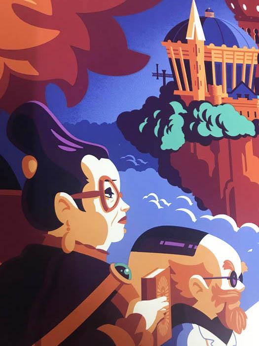 Mondo スタジオジブリ メアリと魔女の花 限定300枚 手書きナンバリング入り(トム ウェイレン)