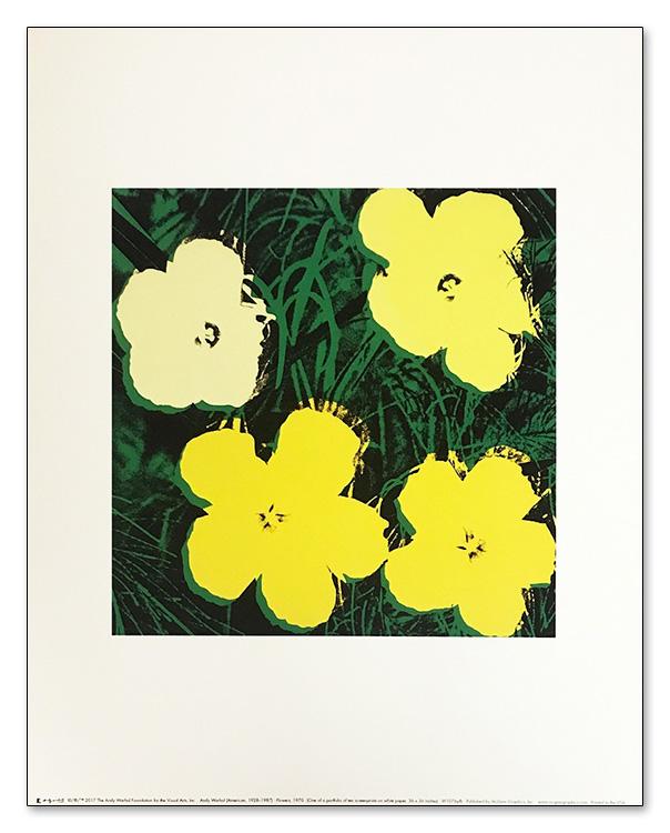 フラワーズ 1970(アンディ ウォーホル)