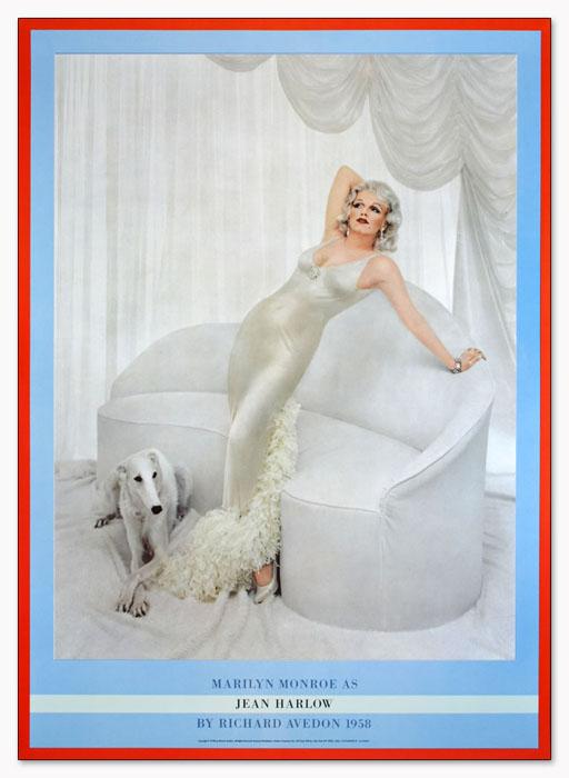 Marilyn Monroe as Jean Harlow 1958年(リチャード アベドン)
