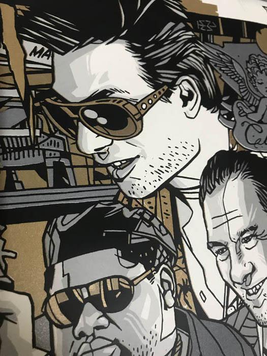 Grey Matter Art トゥルーロマンス Gold  限定300枚 手書きナンバリング入り(タイラー スタウト)