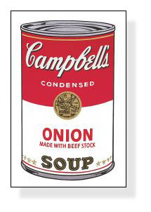 Campbell Soup I Onion 1968(アンディ ウォーホル)