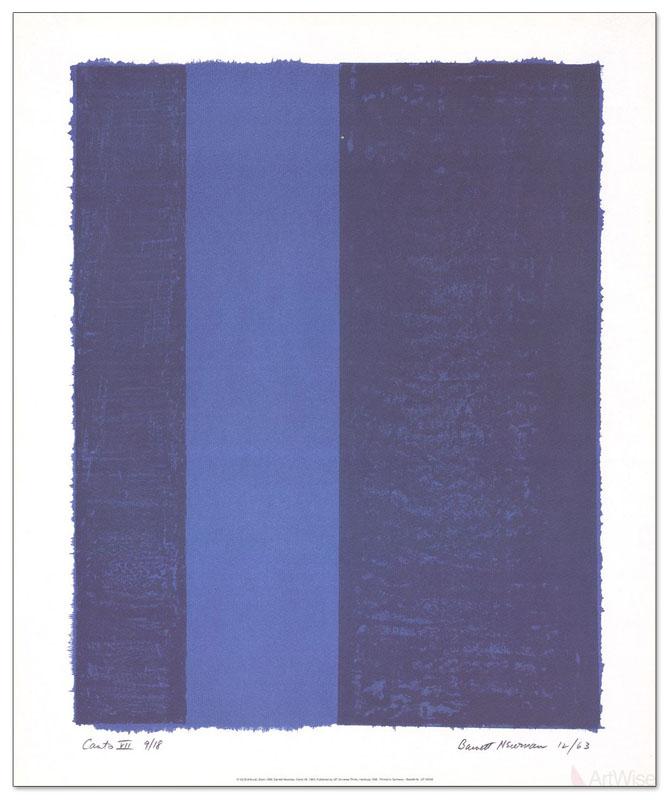 Canto VII 1998年(バーネット ニューマン)