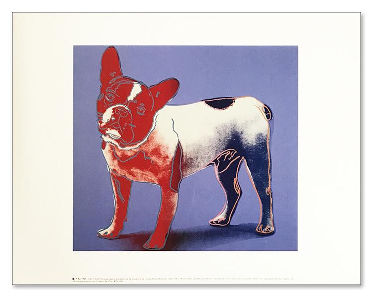特別額装マット作品/アートポスター/MOUJIK 1986(アンディ ウォーホル)