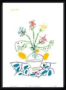 特別額装品20%OFF!!/Vase with Flowers(パブロ ピカソ)
