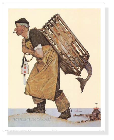 Fishing(ノーマン ロックウェル)