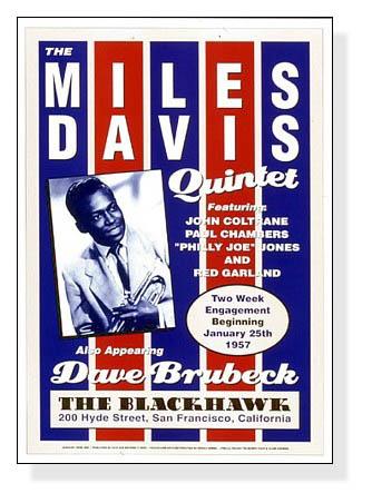 マイルス デイビス クインテット - ブラックホーク サンフランシスコ、1957 -(マイルス・デイヴィス)【f】