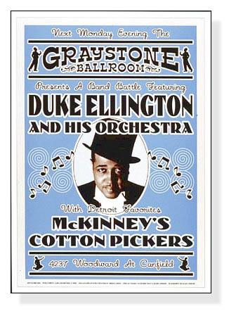 デューク エリントン - グレイストーン ボールルームデトロイト、1933 -(デューク エリントン)