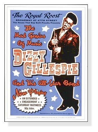 ディジー ガレスピー - ロイヤルルーストニューヨーク市、1948 -(ディジー ガレスピー)【f】