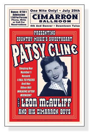 パッツィー クライン、タルサ(オクラホマ)1961(パッツィー クライン)